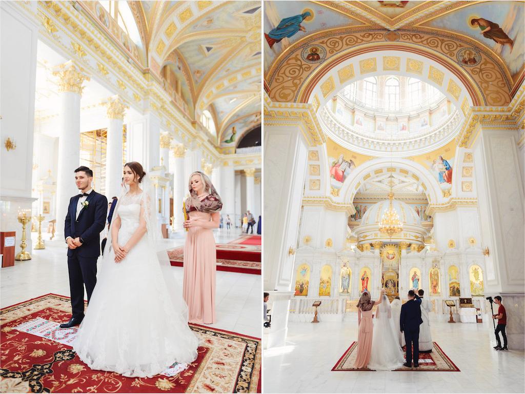 Венчание в Преображенском соборе в Одессе
