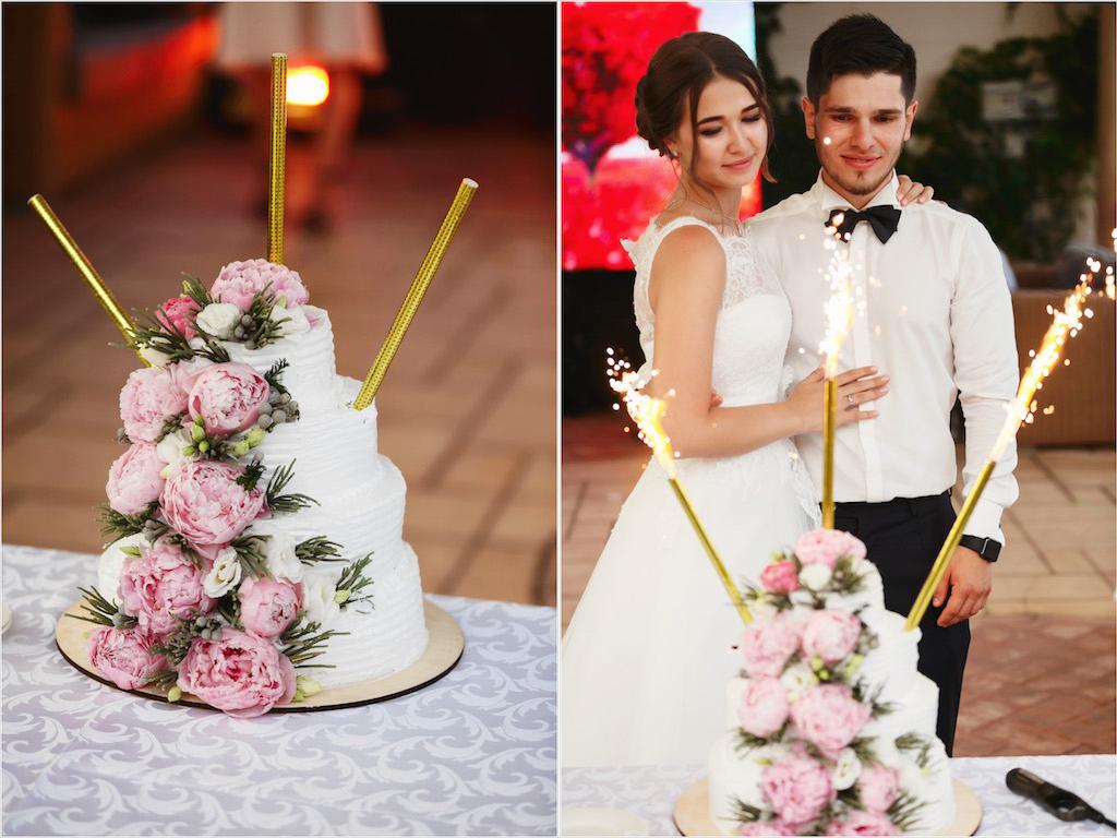 Заказ свадебного тортика в Одессе
