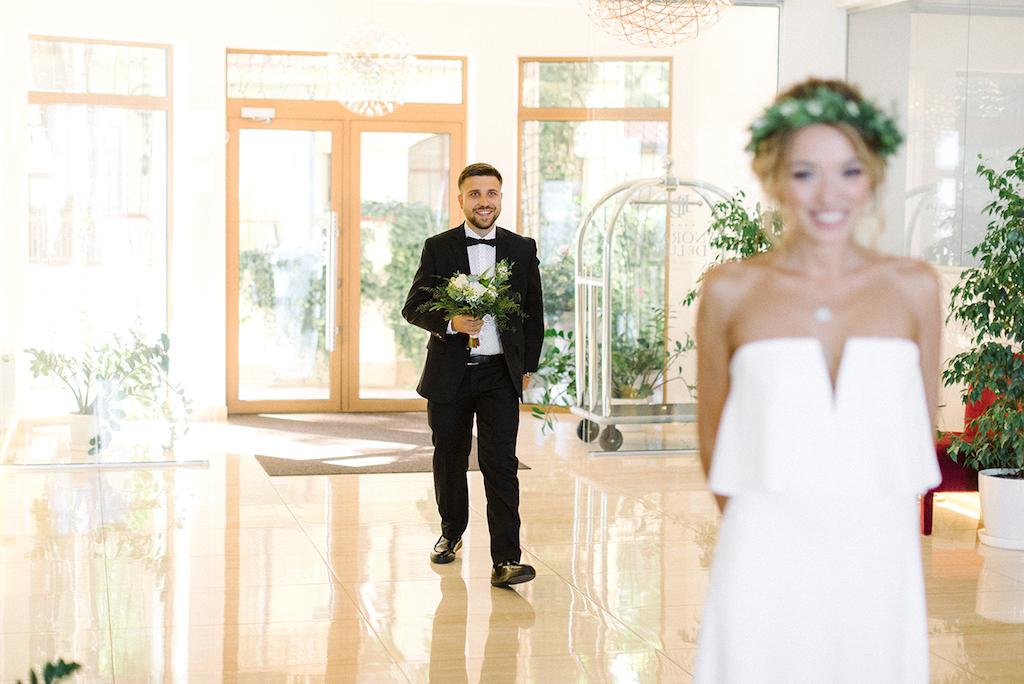Свадебная съемка в отеле Панорама Де Люкс Одесса