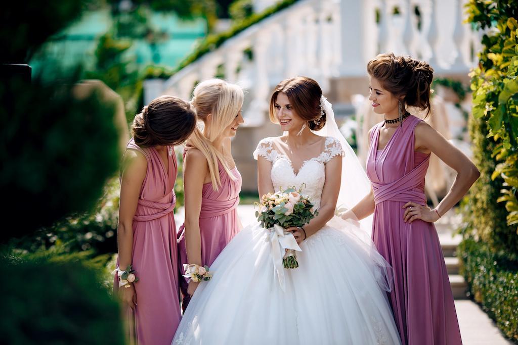 Какие платья подходит для подружек невесты