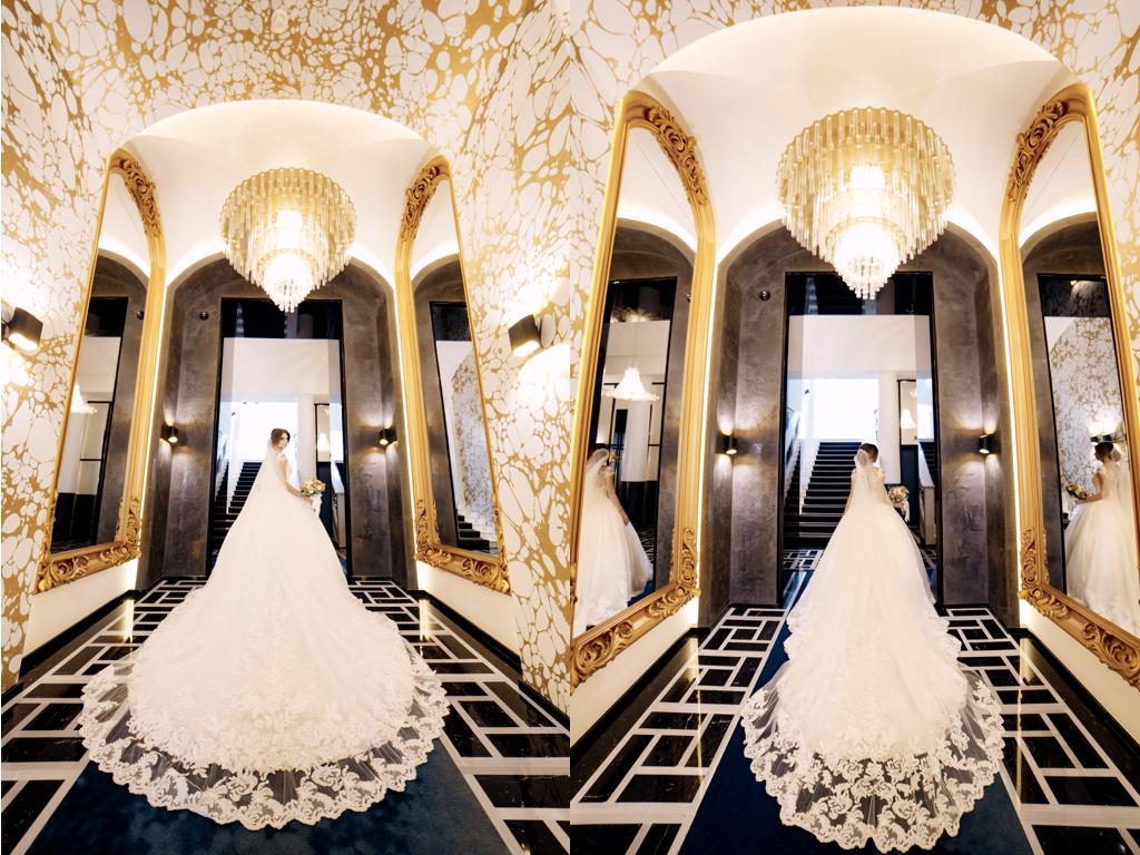 Свадебная фотосъемка в отеле Париж Одесса