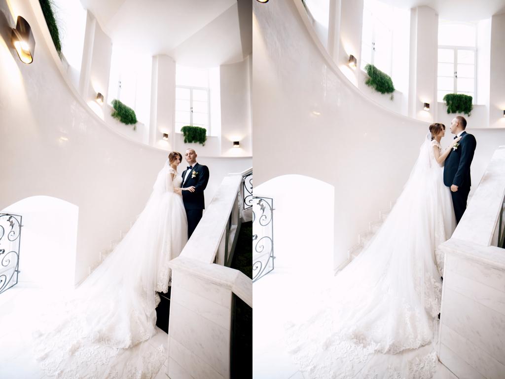 Свадебная фотосессия в отеле Париж в городе Одесса