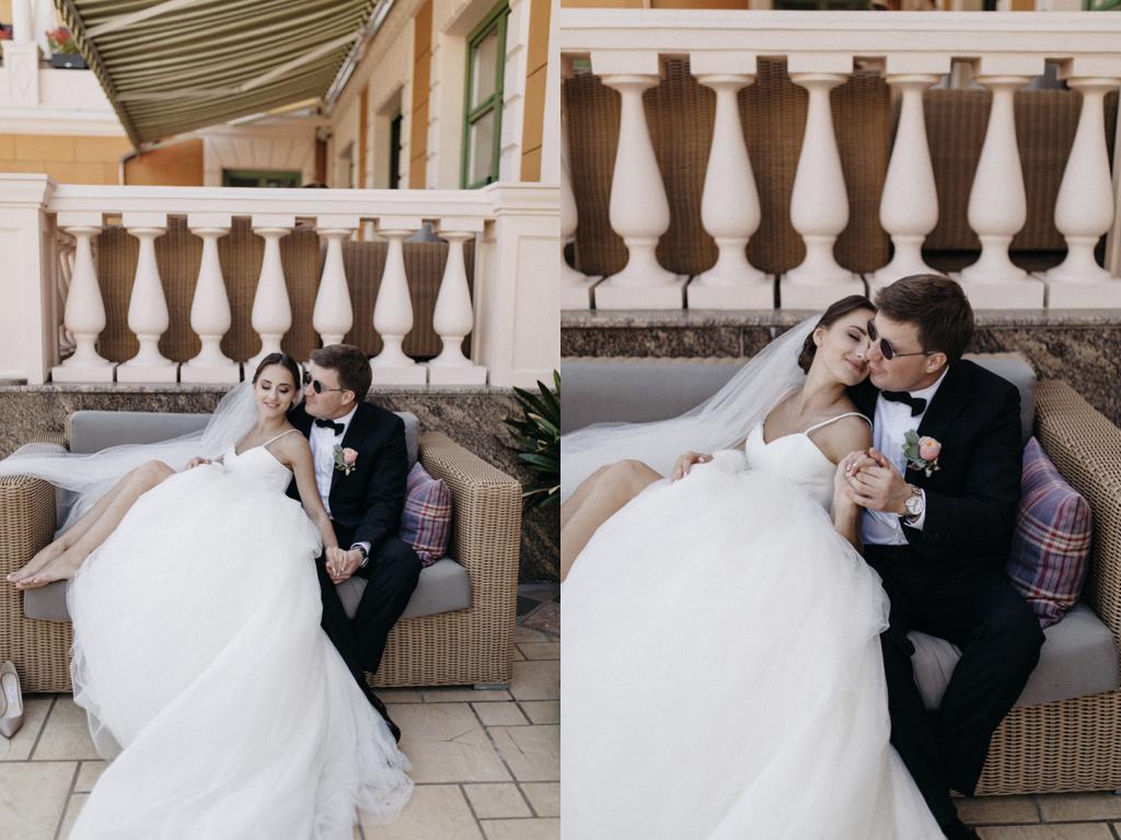 Фотосессия в день свадьбы в Одессе