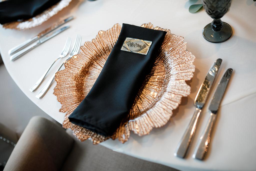 Декор гостевых столов на свадьбу