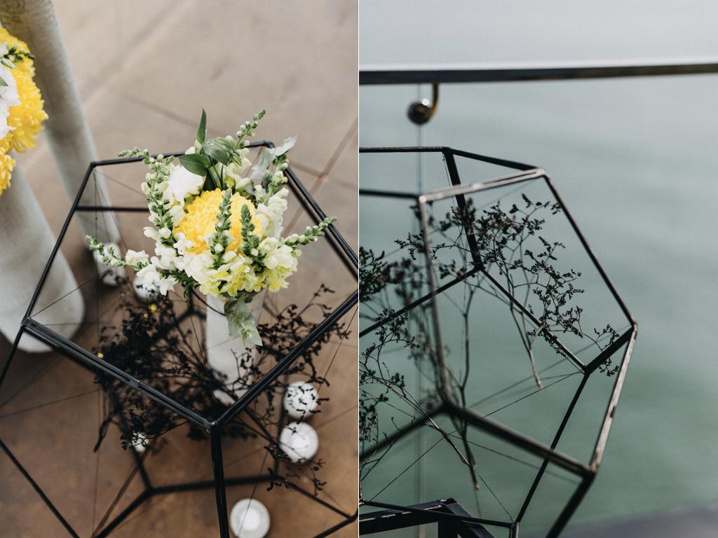 Декор свадьбы в ресторане М1