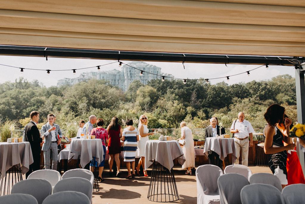 Свадьба в ресторане М1 Одесса