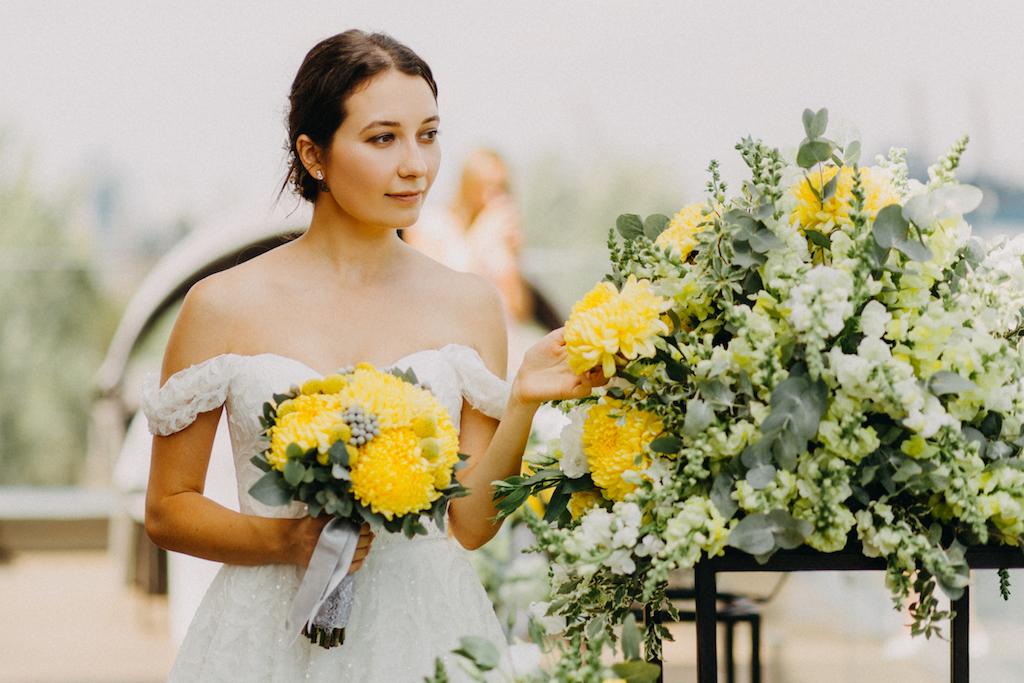 Сборы невесты в городе Одессе