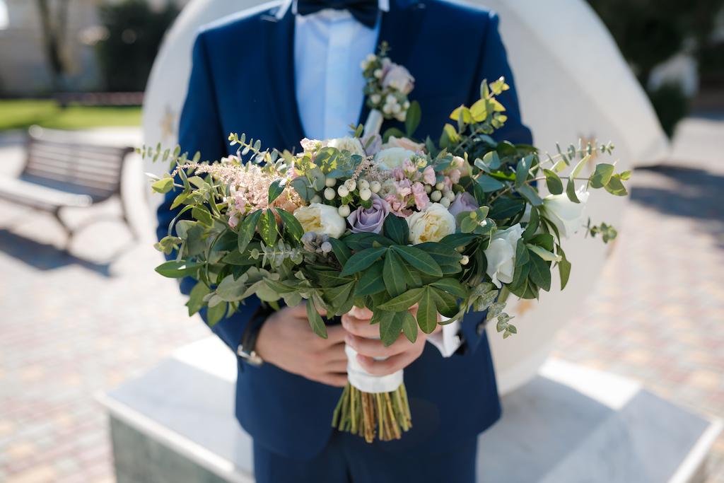 Заказать свадебный букет в Одессе