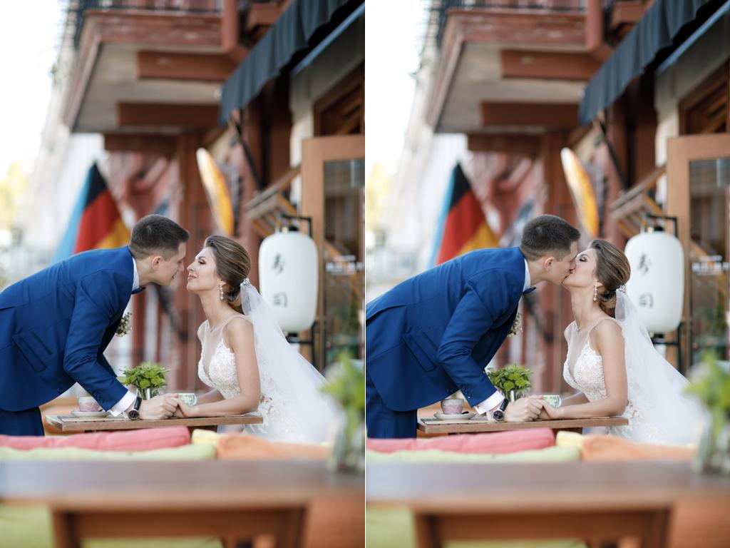 Кафе для свадебной фотосессии