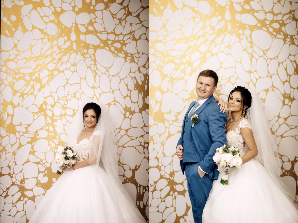 Свадебная фотосессия в отеле Париж