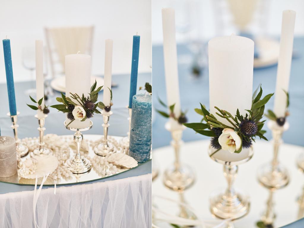 Свечи семейного очага на свадьбу ручной работы в Одессе