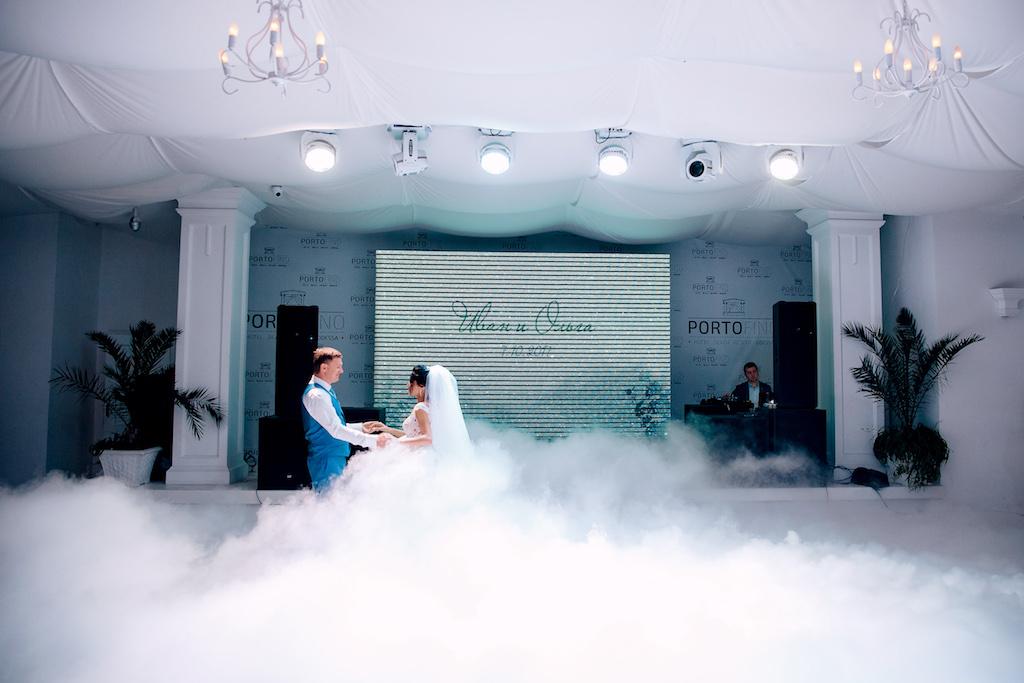 Холодный дым на свадьбу в Одессе