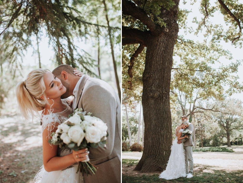 свадебная фотосессия в ботаническом саду Одесса