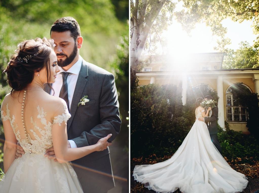 прогулка молодожен в день свадьбы
