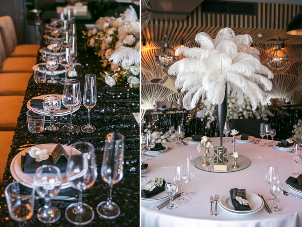 Декор свадьбы в ресторане Maristella