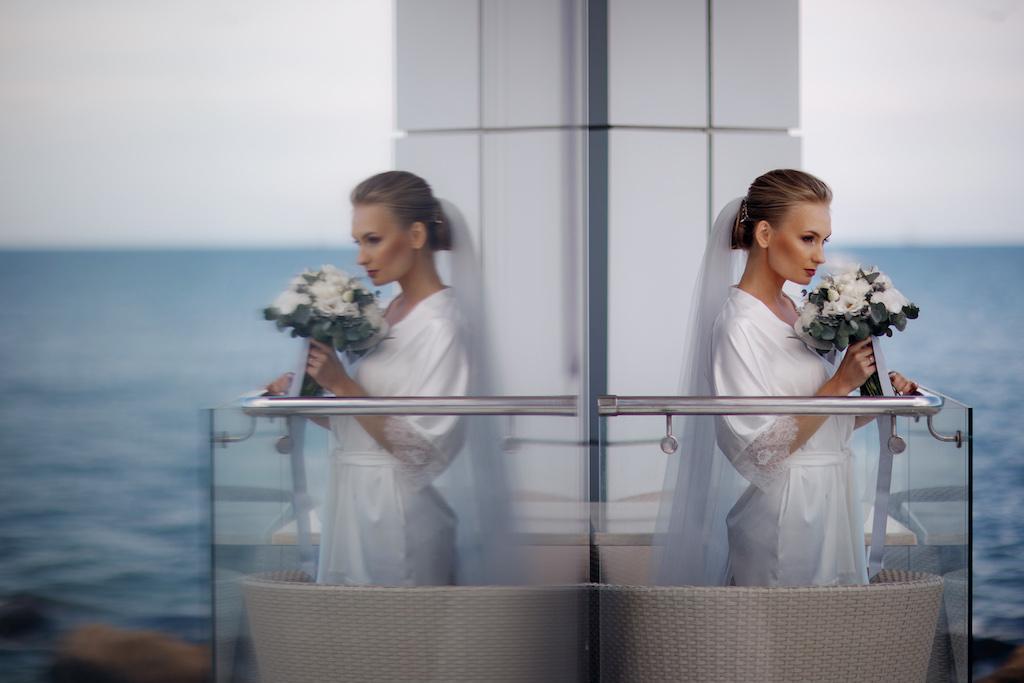 утро невесты у моря