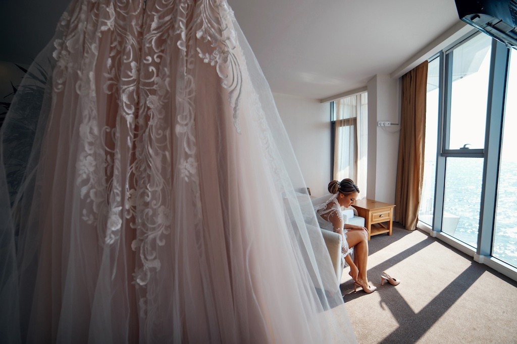 утр невесты в Portofino