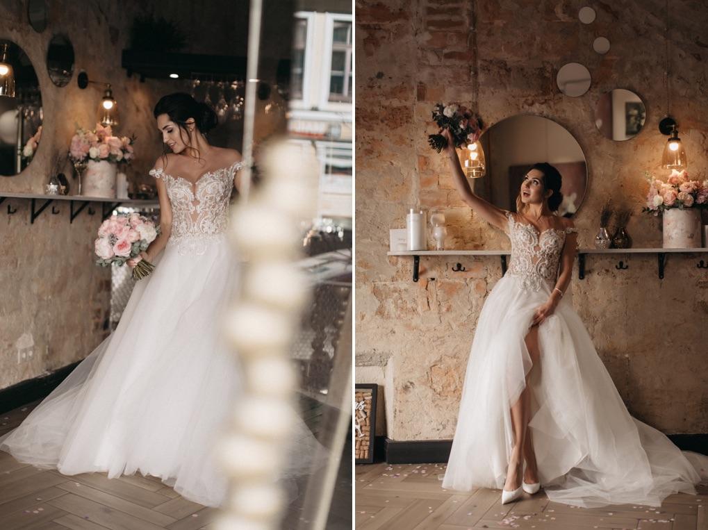 фотосессия утра невесты в Sparkling Wine Gallery