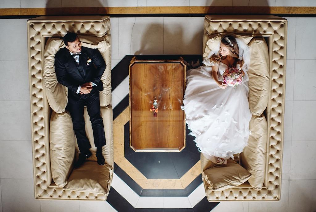 фотосессия молодожен в день свадьбы