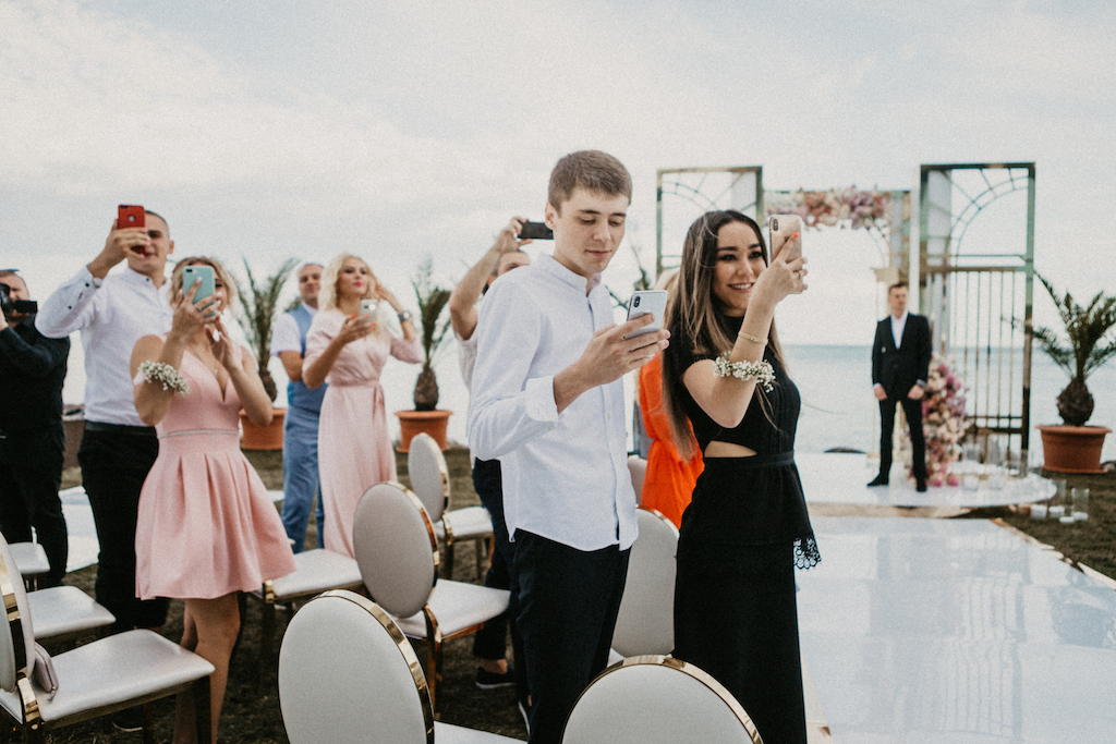 свадьба летом у моря