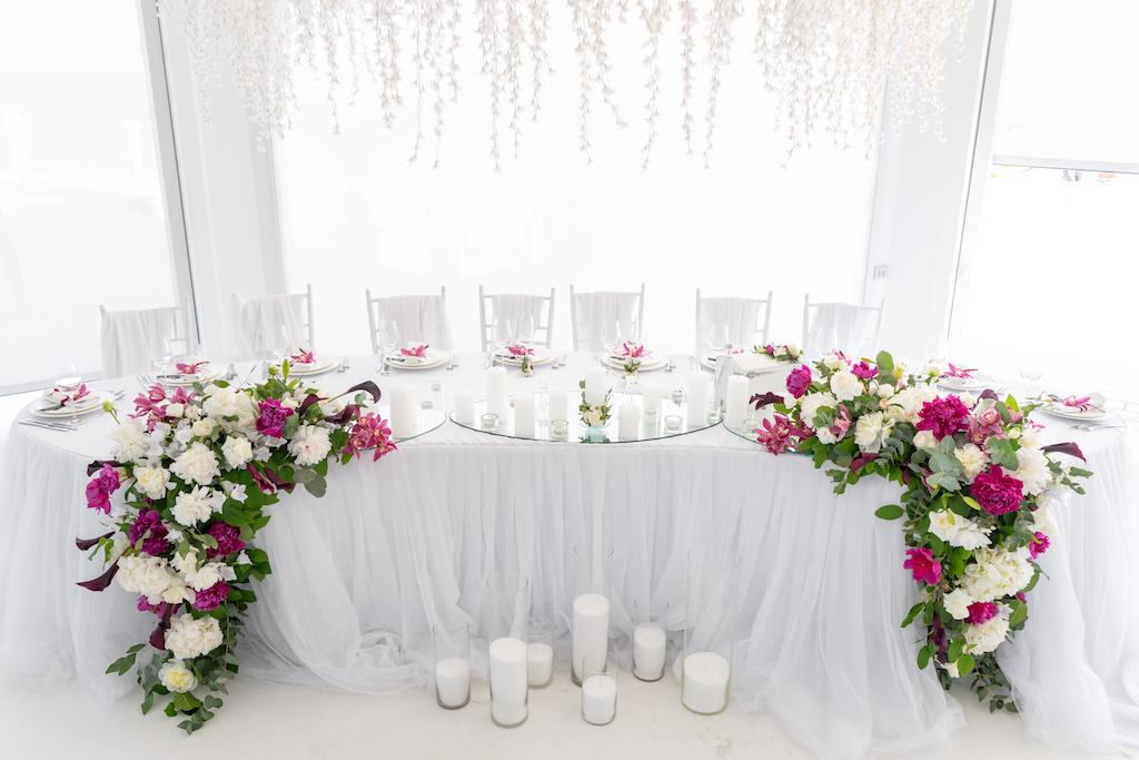 декор свадьбы в ресторане Портофино