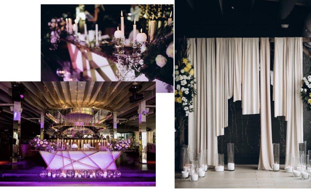 декор свадьбы в Одессеъ