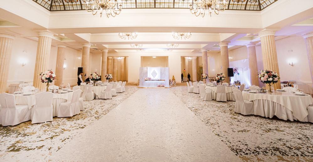 свадьба в ресторане Бристоль