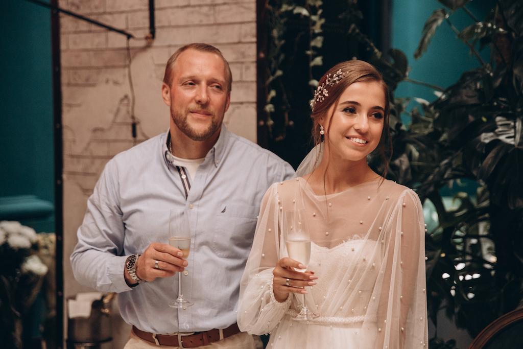 свадьба в ресторане Doors