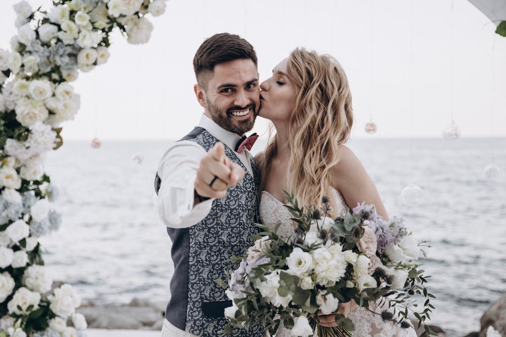 свадьба в ресторане Maristella Marine Residence
