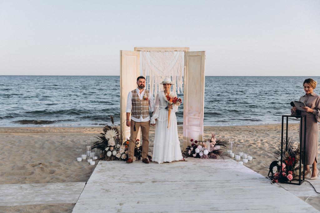 свадьба в Затоке