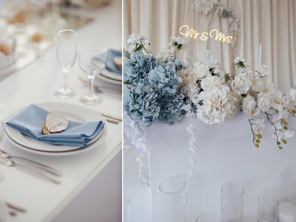 декор свадьбы в ресторане Маристелла