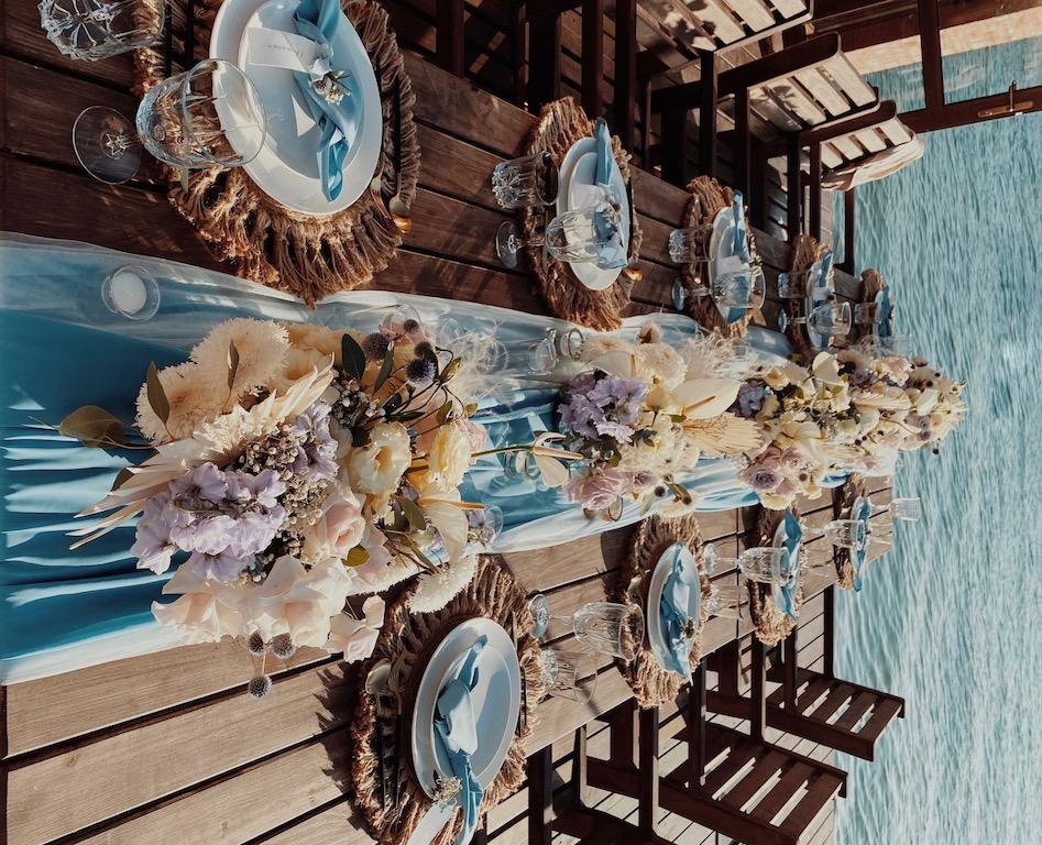 декор свадьбы в Причал 80