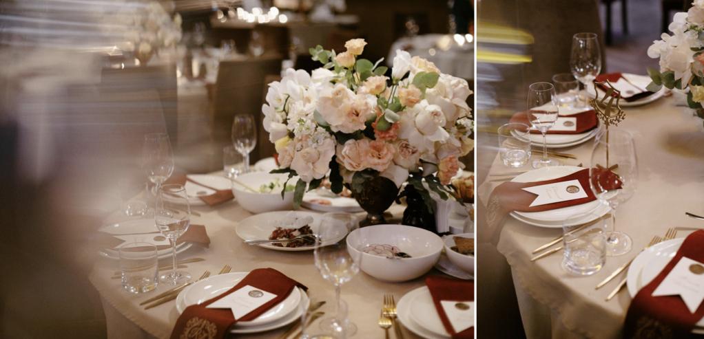 декор свадьбы в ресторане Бернардацции