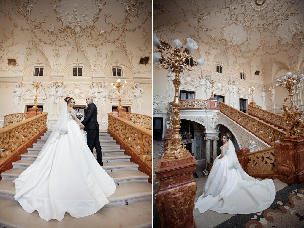 Оперный театр фотосессия на свадьбу