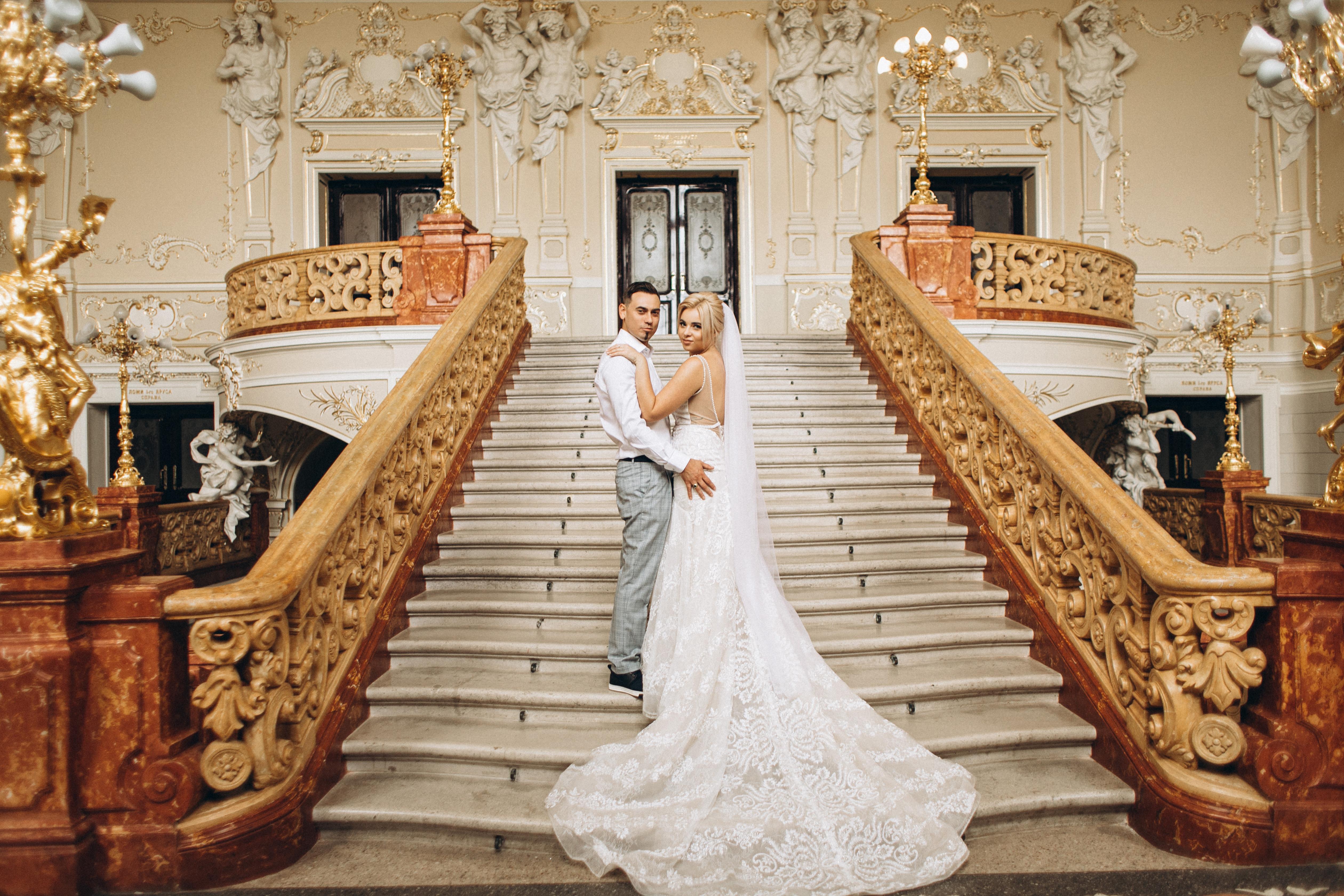 Оперный театр свадебная фотосессия