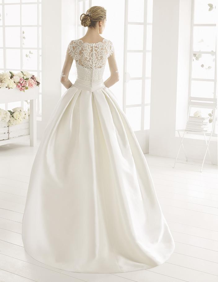 Midas (38, mikado bd lace, ivory) Свадебное платье Rosa Clara в Одессе. Свадебный салон Скоро Свадьба.