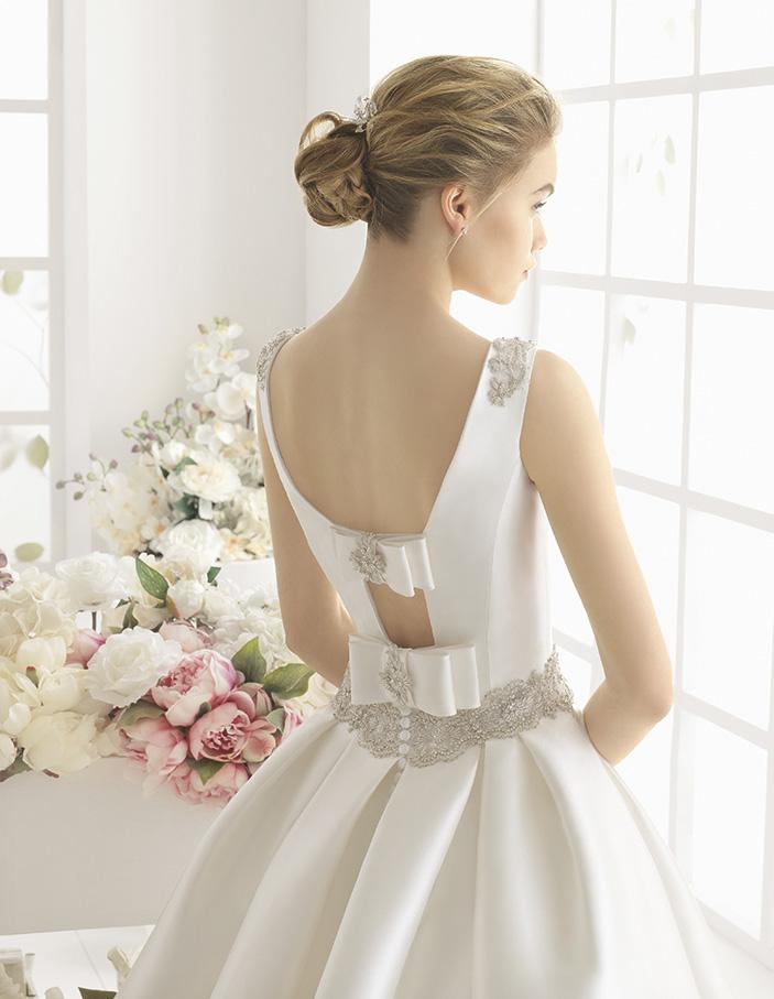 Metafora (38, микадо/бисер, natural) Свадебное платье Rosa Clara в Одессе. Свадебный салон Скоро Свадьба.