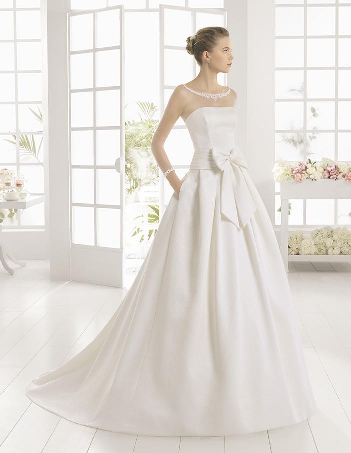 Свадебное платье Rosa Clara в Одессе. Свадебный салон Скоро Свадьба.