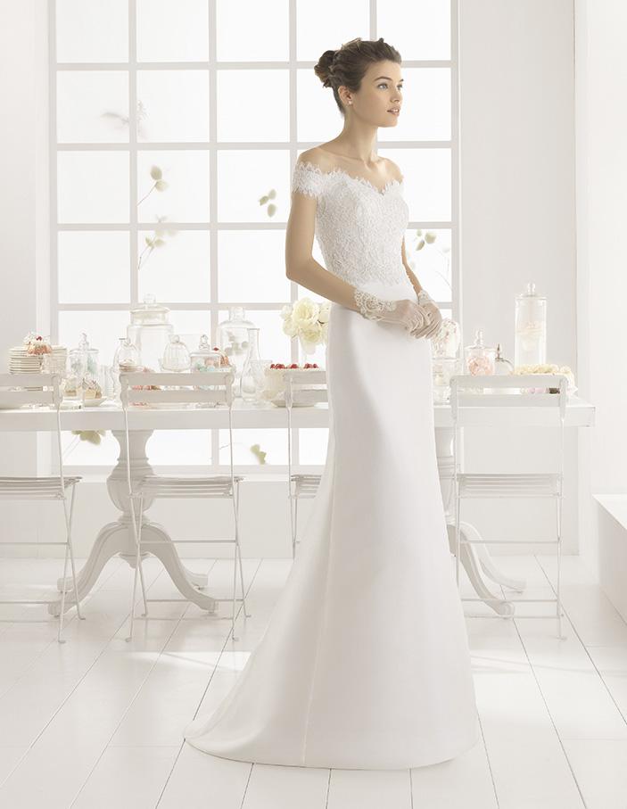 Menta (38, natural) Свадебное платье Rosa Clara в Одессе. Свадебный салон Скоро Свадьба.