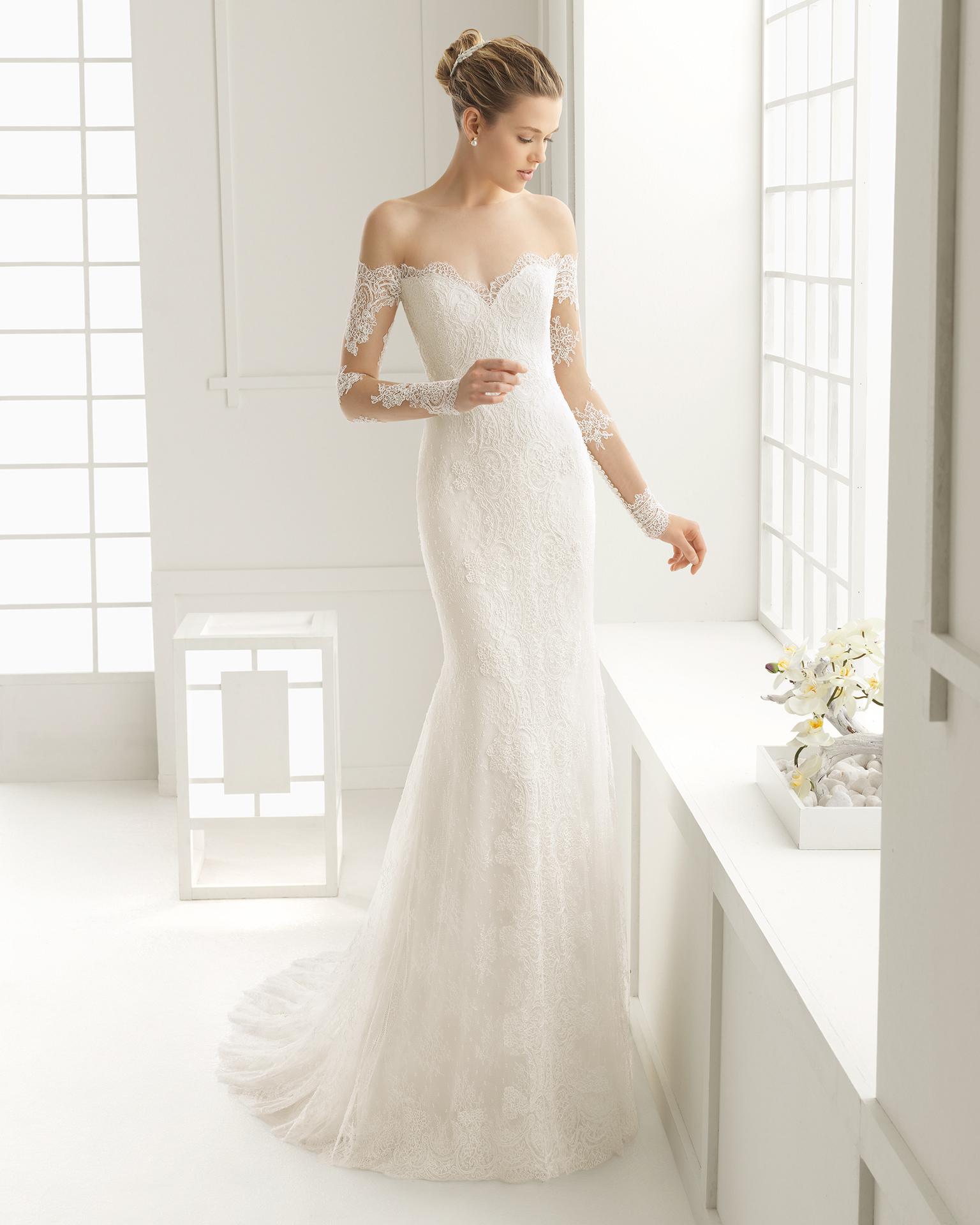 Dore (40, natural) Свадебное платье Rosa Clara в Одессе. Свадебный салон Скоро Свадьба.