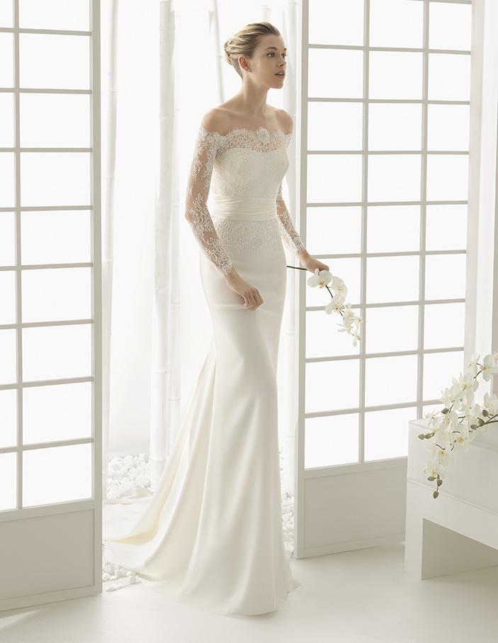 Dado (40, кружево/бисер, natural) Свадебное платье Rosa Clara в Одессе. Свадебный салон Скоро Свадьба.