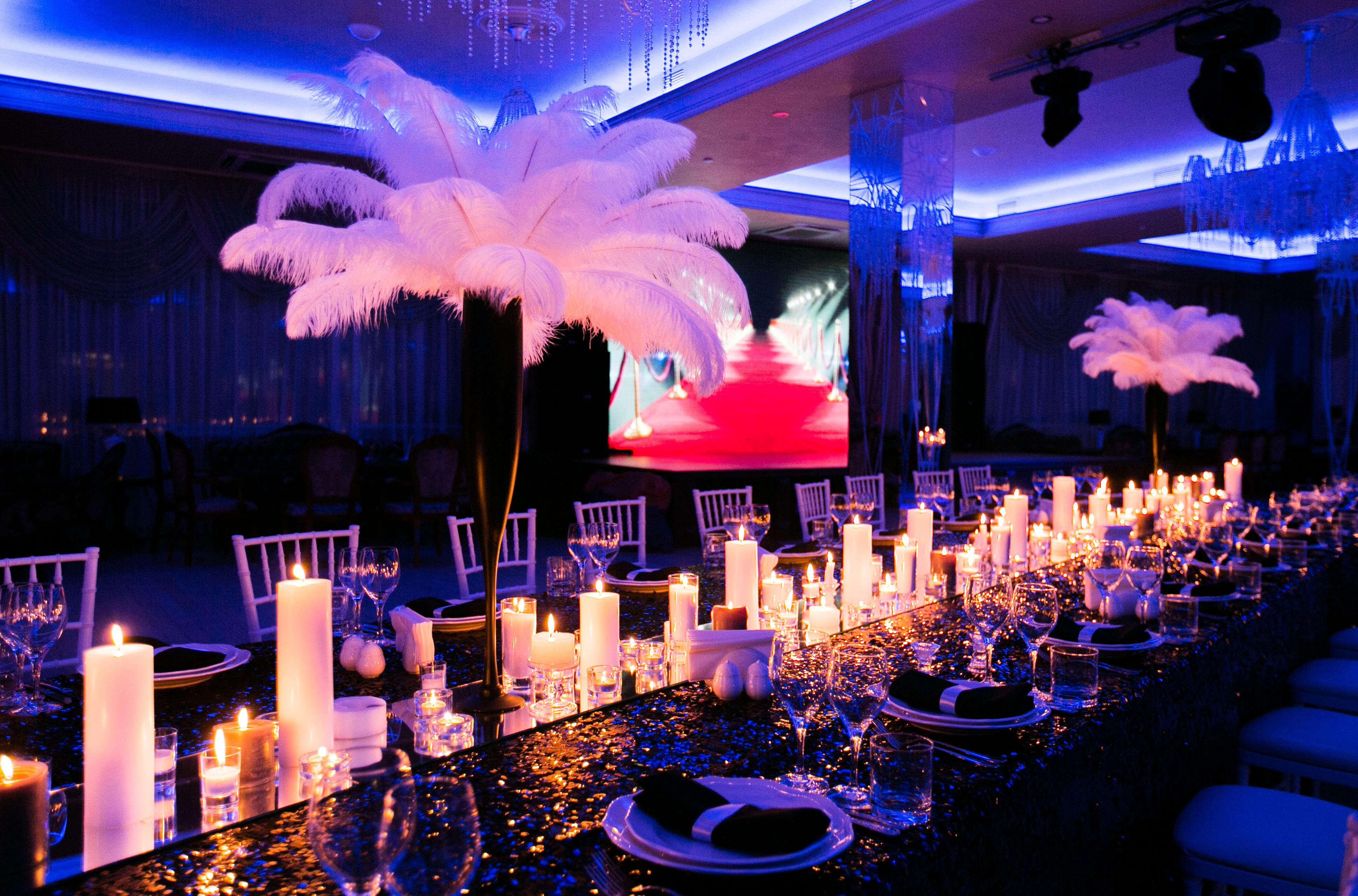 День рождения в ресторане Атлантик, Одесса. Организация и декор - Скоро Свадьба